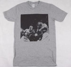 Gatti V Ward Grey T-Shirt S-XXXL boxing mma ali tyson classic arturo mickey