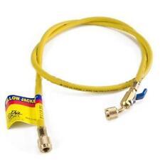 """Yellow Jacket 29036 36"""", Yellow, Compact Ball Valve, Plus II 1/4"""" Hose"""