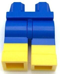 Lego New Blue Hips Minifigure Legs Yellow Boots Swimsuit Beach Pants Shorts