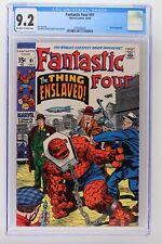 Fantastic Four #91 - Marvel 1969 CGC 9.2 Skrulls Appearance.