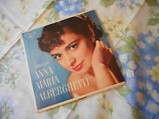 Songs Of Anna Maria Alberghetti  EP 45 & Picture Sleeve