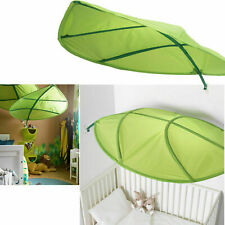 IKEA LOVA Green Leaf Childrens Kids Bed Canopy Tent Decor NEW Factory Sealed