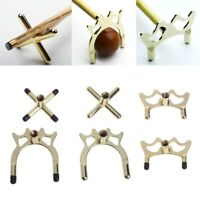 Copper Stick Frame Billiards Accessory Snooker Pool Cue Rest Bridge Head Holder