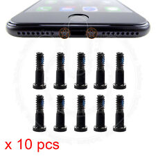 10 x Bottom Screws Pentalobe Black Screw set for Apple iPhone 7, iPhone 7 Plus