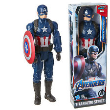 Avengers Endgame Captain America Toy with Shield Super Hero Action Figure 12inch