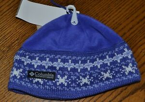 COLUMBIA YOUTH BEANIE HAT GRAPE COLOR, YOUTH ONE SIZE $20, NEW W/TAGS