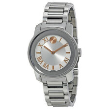 Movado Bold Stainless Steel Ladies Watch 3600244