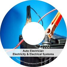 Learn About Auto Electrics Electronics Automobile Electrician PDF Manuals on CD
