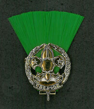 SCOUTS OF NIPPON (JAPAN) - SCOUT LEADER / MASTER (GREEN COLOUR) Metal Plume