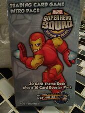 Upper Deck Super Hero Squad TCG Trading Card Game Intro Pack Iron Man Foundation