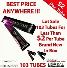 LOREAL DIA RICHESSE ** LOT OF 103***  Less Than $2 Per Tube !!! **Best Price**