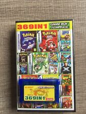 369 in 1 GBA Games for Nintendo GBA SP NDS Retro Game Boy Cartridge Pokemon USA
