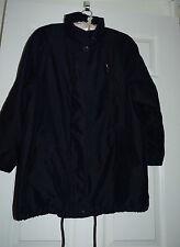 Ladies UK 10 Marks & Spencer light weight navy winter jacket