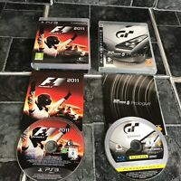 F1 2011 Game & Gran Turismo 5 Prologue - Playstation 3 PS3 Games