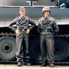 Fábrica De Resina Sol, MM163, 1/35, Alemán tanque tripulación (2 figuras-base no se incluye)