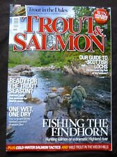 Trout And Salmon, March 2012, Gem of the North East, River North Esk, Fly Tying