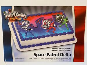 Decopac Power Rangers Cake Topper Kit - NEW