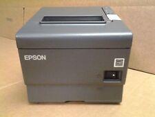 Epson Tm188V Pos Receipt Printer W/Ethernet And Power Supply