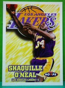 Shaquille O'Neal regular card 1997-98 Skybox Hoops #81