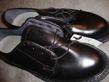 MILITARY Capps AirLite Men's Oxford Black Dress Shoes Vibram Soles SZ 8M USA 133
