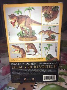 "Revoltech 2015 ""Legacy Of Revoltech"" Tyrannosaurs Rex Action Figure MISB Kaiyodo"