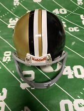 Vintage New Orleans Saints Mini Helmet 2 Color NFL