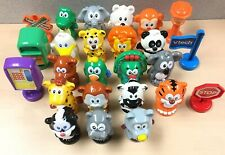 VTech Smartville Animals Signs 25 Item Lot Good Overall Condition Interactive