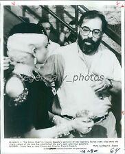 1984 Francis Coppola for The Cotton Club Original News Service Photo