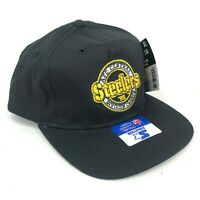 Vintage Pittsburgh Steelers 1995 Division Champs Starter Snapback Hat Black