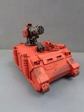 Warhammer 40,000 Space Marines Razorback Thunderfire Turret 427