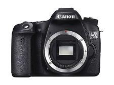 Canon EOS 70D 20.2MP Fotocamera Reflex Digitale-Nero (Solo Corpo) Memoria 128 GB GRATUITA