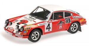 Porsche 911 S No.4 2nd Rally Monte Carlo 1972 (Larousse - Perramond)
