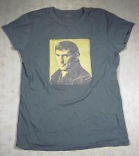 Vintage Woman's Barnabas Collins Jonathan Frid T-Shirt XL Green Dark Shadows