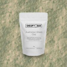 GREEN AUSTRALIAN CLAY - Premium Cosmetic Face Mask Soap Making Bath Quality