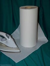 5 mts long x 30cm wide Iron on Embroidery Stabiliser Backing folded & sent flat