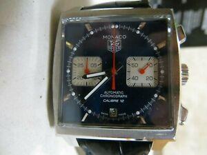 TAG Heuer Monaco Blue Men's Watch - CAW21110 Steve McQueen Style
