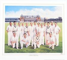 "1948 AUSTRALIAN CRICKET TEAM ~ CLEARANCE~BRADMAN'S ""INVINCIBLES"" by Dave Thomas"