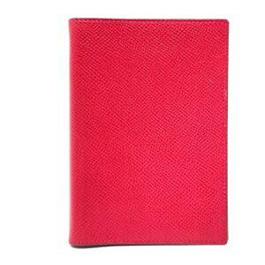 HERMES Agenda Globetrotter Notebook cover Epsom Red