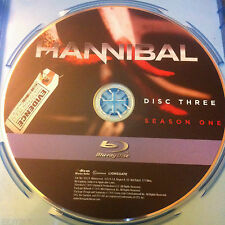 Hannibal season 1 Disc 3 Replacement Disc Blu-ray DVD ONLY