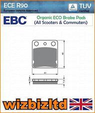 EBC Trasero Organic SFA Pastillas de Freno DAELIM S1 125 (SL125) 07-14 sfa54