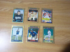 LOT OF (6) DIFF.  2005  TOPPS TRADED UPDATE & HIGHLIGHTS GOLD CARDS