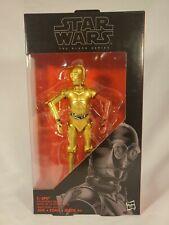 Hasbro Star Wars Black Series 6 Inch #29 C-3PO (Resistance Base) NIB Action...