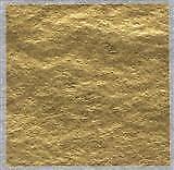 Sugarflair 24 quilates Comestibles De Oro De Hoja De Transferencia De Hoja Para Decoración De Pasteles 8 Cm