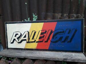 RALEIGH INDUSTRIES SIGN GARAGE VEKTAR BURNER CHOPPER GRIFTER SPRINT GT BMX