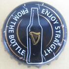 GUINNESS DRAUGHT STOUT used Beer CROWN, Bottle Cap w/ HARP, Dublin, IRELAND