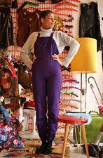 VEB DDR Femmes Latzhose Overall Long Long Jumpsuit 80er True Vintage 80's GDR