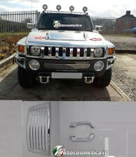 Trim Cover Grill Suction Hood Abs Chrome Hummer h3 2003-2011