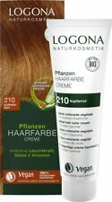 (9,97€/100ml) Logona Pflanzen-Haarfarbe Creme 210 kupferrot  150 ml