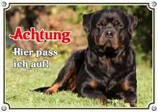 Hundeschild - Rottweiler - exklusives Design