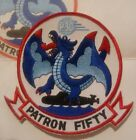 US NAVY P3C Patron Fifty  SQUADRON PATCH New, Pristine Condition, free shipping